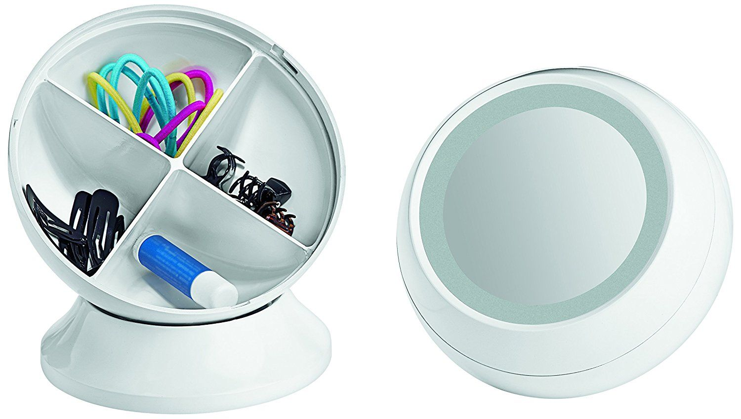 Conair Reflections Storage Collection - Plastic Ball ...