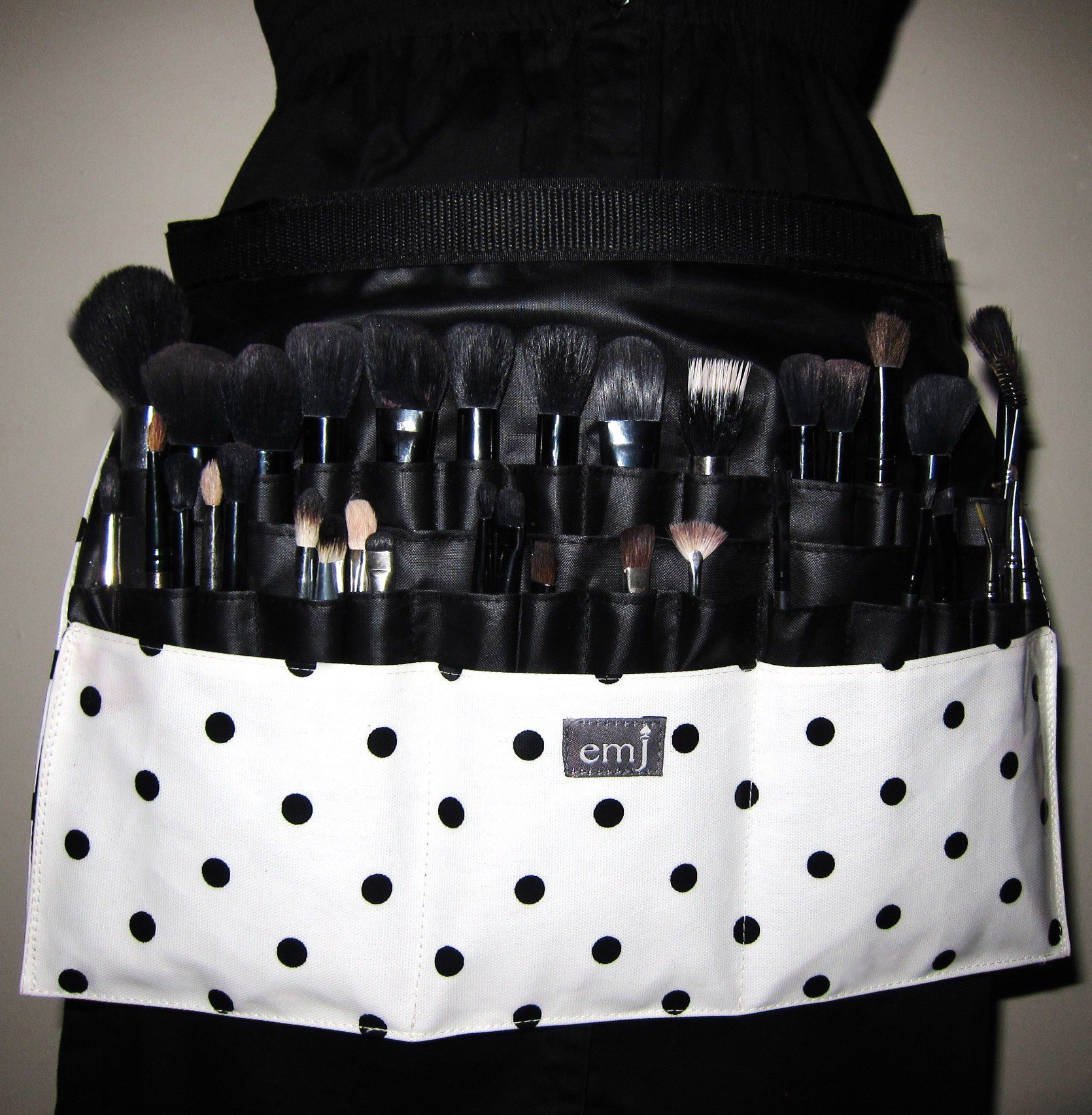 Make up brush belt 'Harry' School makeup, Makeup brushes