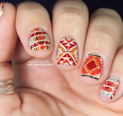 20 Fantastic Nail Designs For Thanksgiving 8 Fashionable