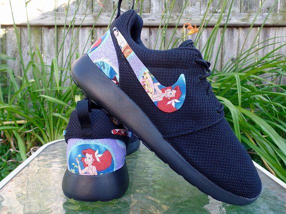 f3a6ac4251b74 Little Mermaid Shoes - Nike Roshe One Women s