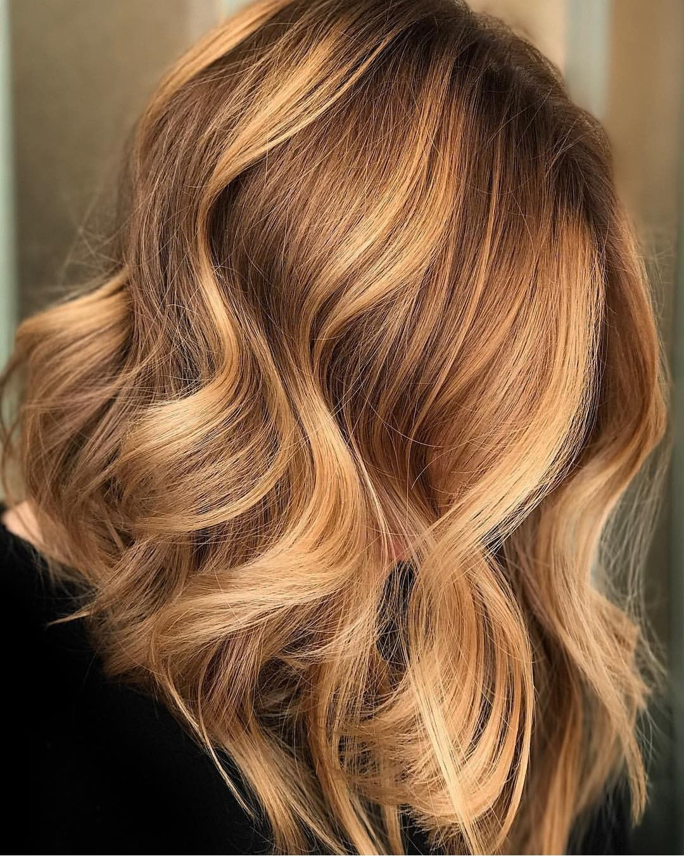 Balayage Gold Wheat Balayage Hair, Ombre Hair, Hair 2018, Hair Inspo, Hair