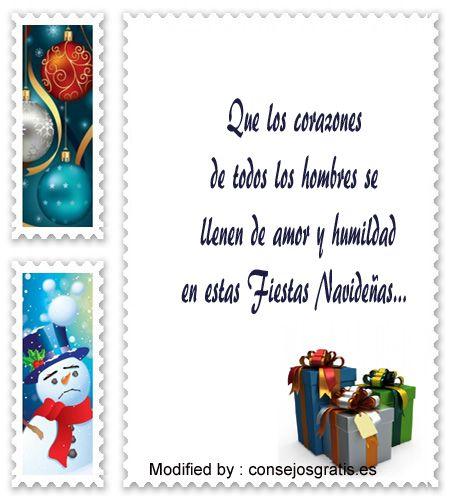 Postales de navidad textos