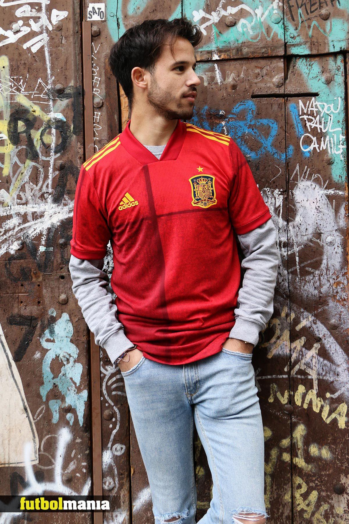 Custodio Más que nada Misterio  Camiseta adidas España 2020 2021 | Atuendo de chaqueta, Camisetas,  Vestuarios deportivos