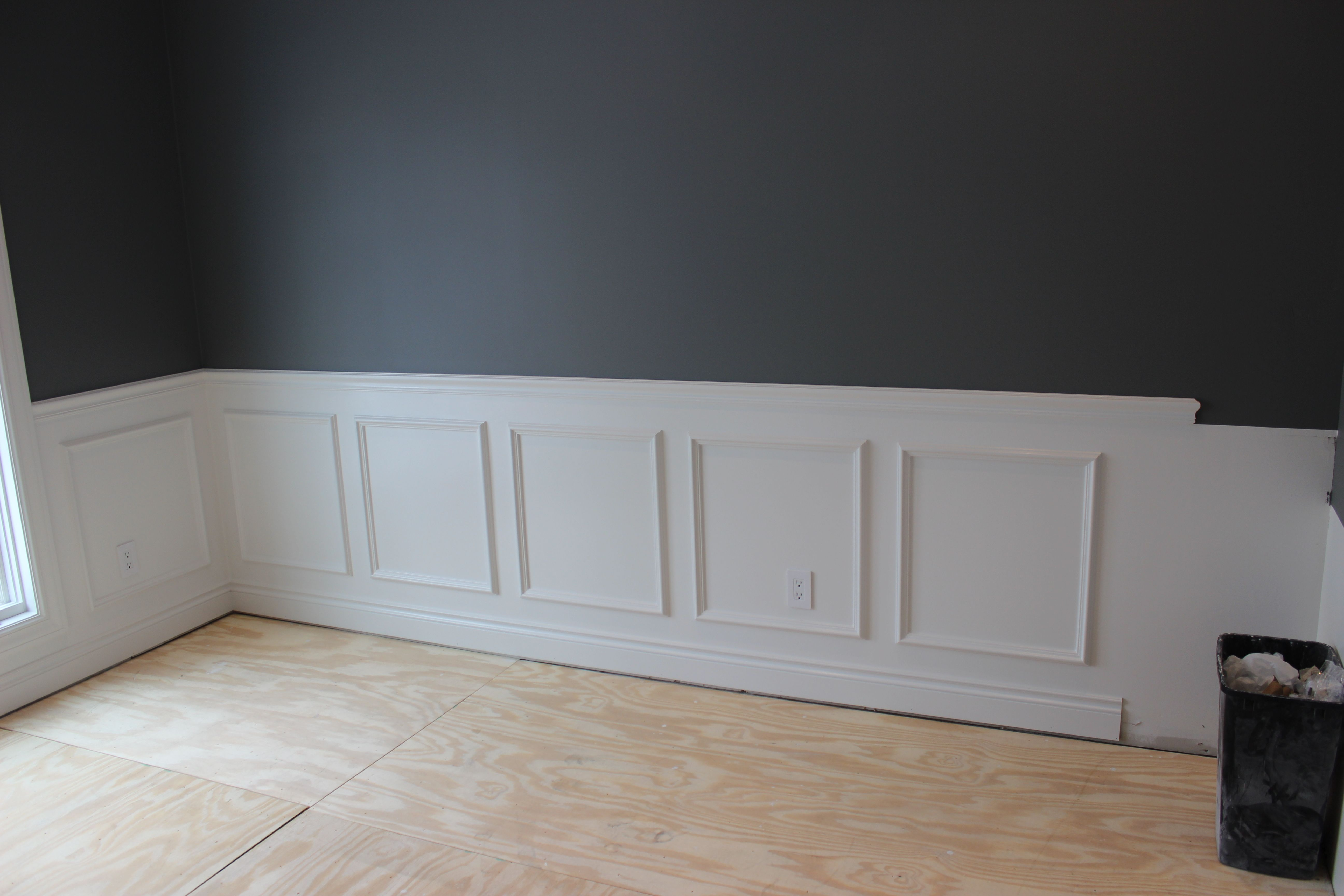 I added picture frame molding on the lower walls to add a classic i added picture frame molding on the lower walls to add a classic feel to the jeuxipadfo Images