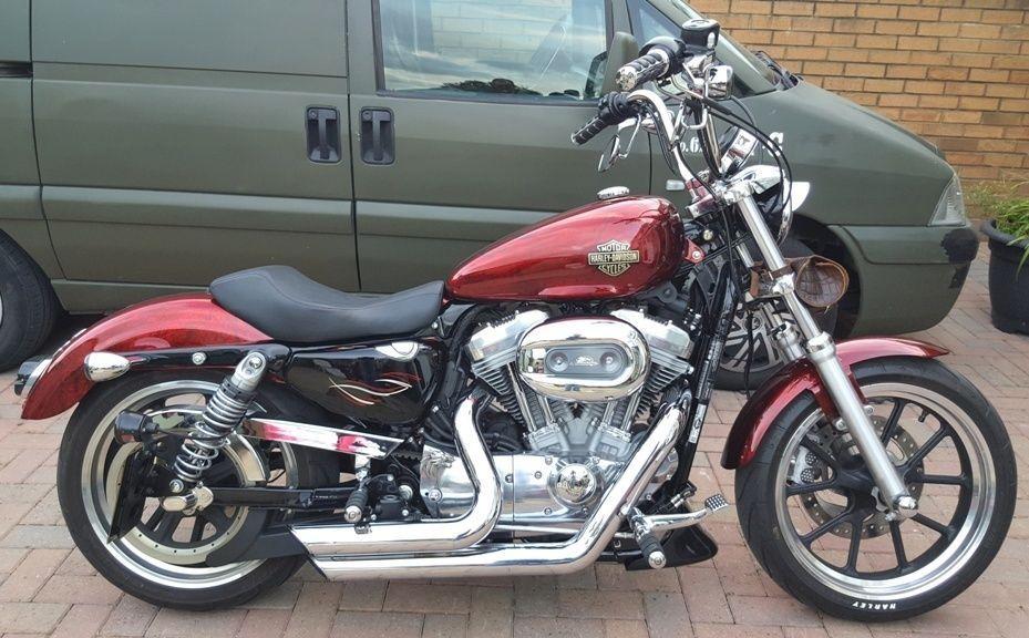 eBay Harley Davidson Sportster Super Low harleydavidson