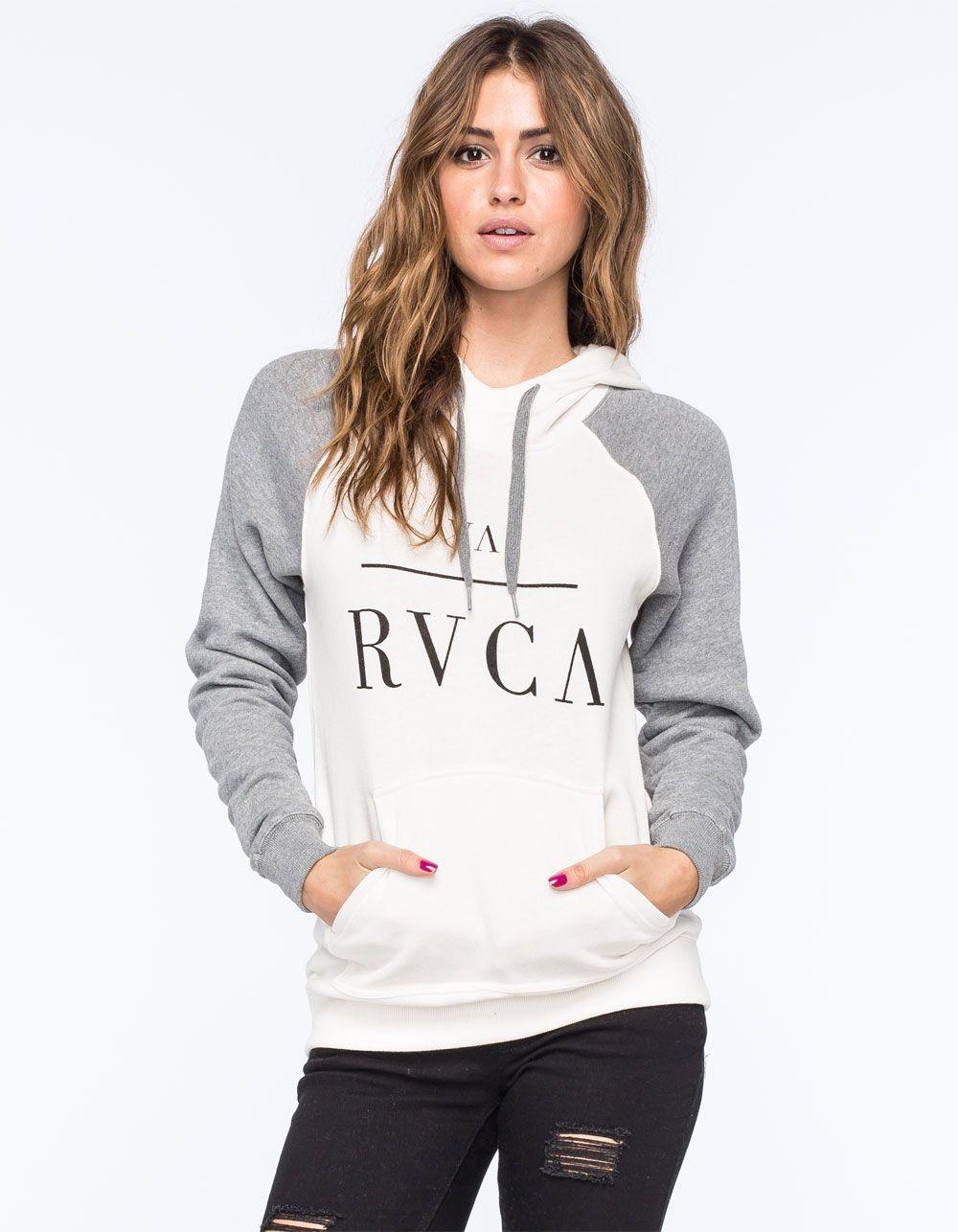 60bd60d4 RVCA Substance Womens Raglan Hoodie 258199167 | Sweatshirts & Hoodies  Autumn Winter Fashion, Winter Style