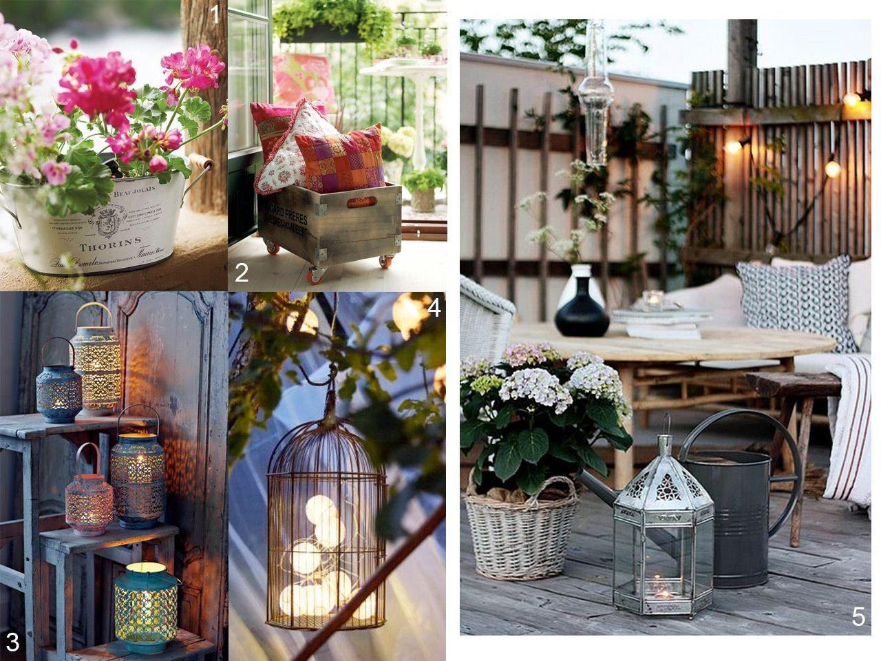 5 consejos para decorar balcones peque os con encanto for Lavaderos en patios pequenos