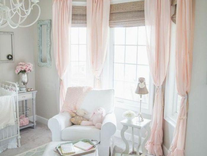 1001 conseils et ides pour une chambre en rose et gris sublime - Chambre Vintage Rose