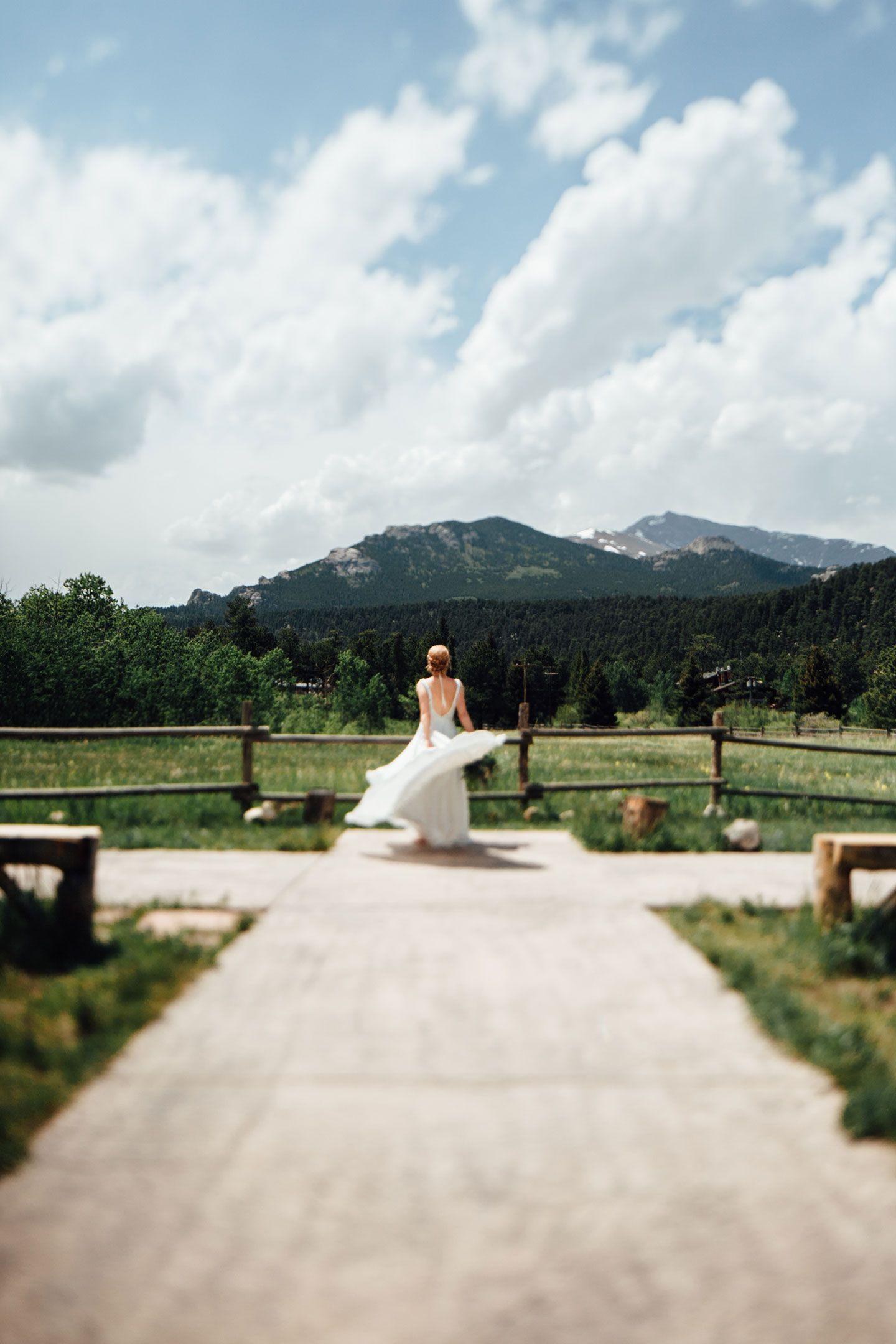 Wild Basin Lodge Wedding Estes Park Wedding