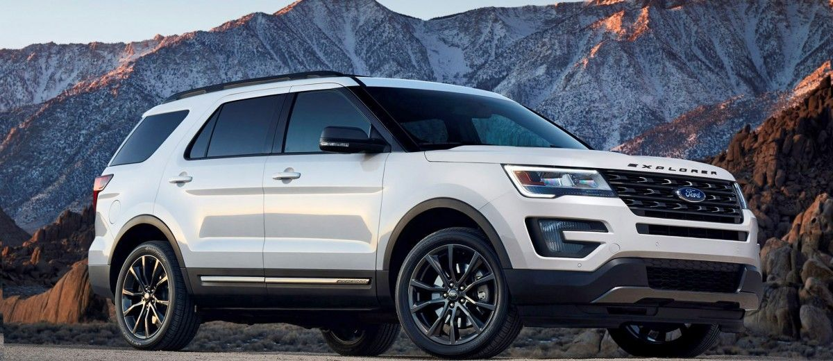 2017 Ford Explorer XLT Sport Pack Is HighImpact Styling
