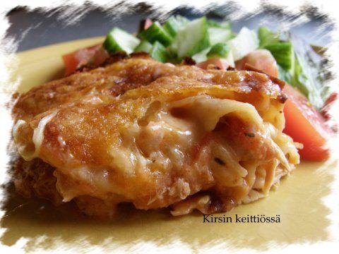 Mielettömän hyvää lasagnea... - Kirsin keittiössä - Vuodatus.net