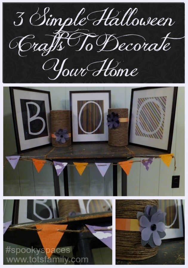3 Simple Halloween Crafts to Decorate your Home Decorating, Craft - how to decorate home for halloween