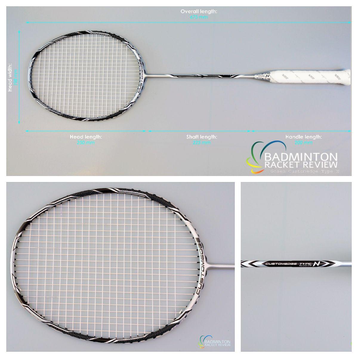Gosen Custom Edge Type N Badminton Racket Review  To find
