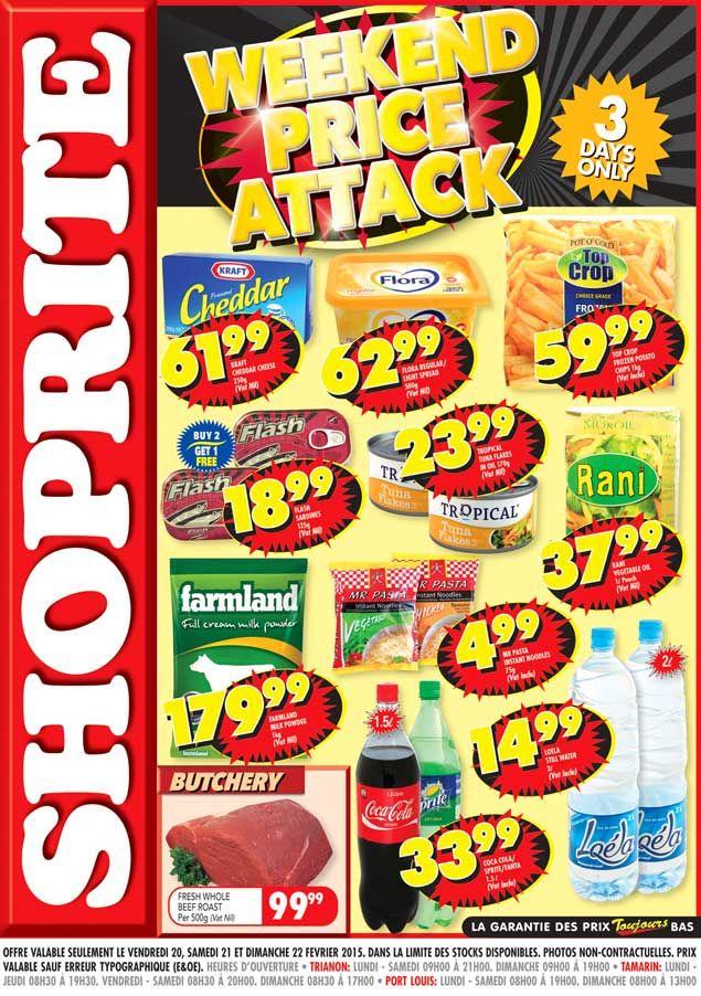 Shoprite Hyper 3 Days Only Trianon Tamarin Port Louis 20 22 Fev 2015 Adverts Latest Shoprite Port Louis Day