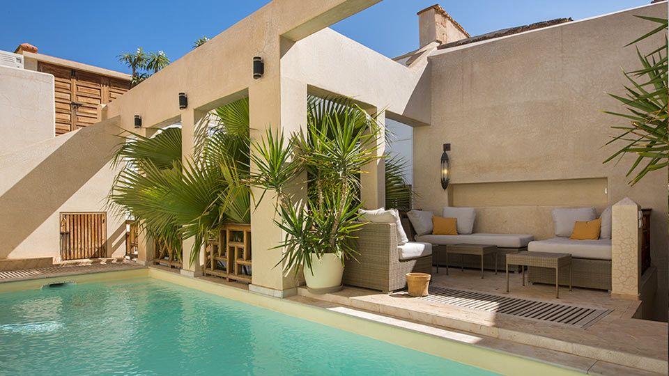 Villa Riad TMN In Marrakech   Swimming Pool