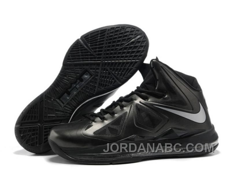 check out 20a5f e2317 http   www.jordanabc.com nike-zoom-lebron-10-shoes-black.html NIKE ZOOM  LEBRON 10 SHOES BLACK Only  89.00 , Free Shipping!
