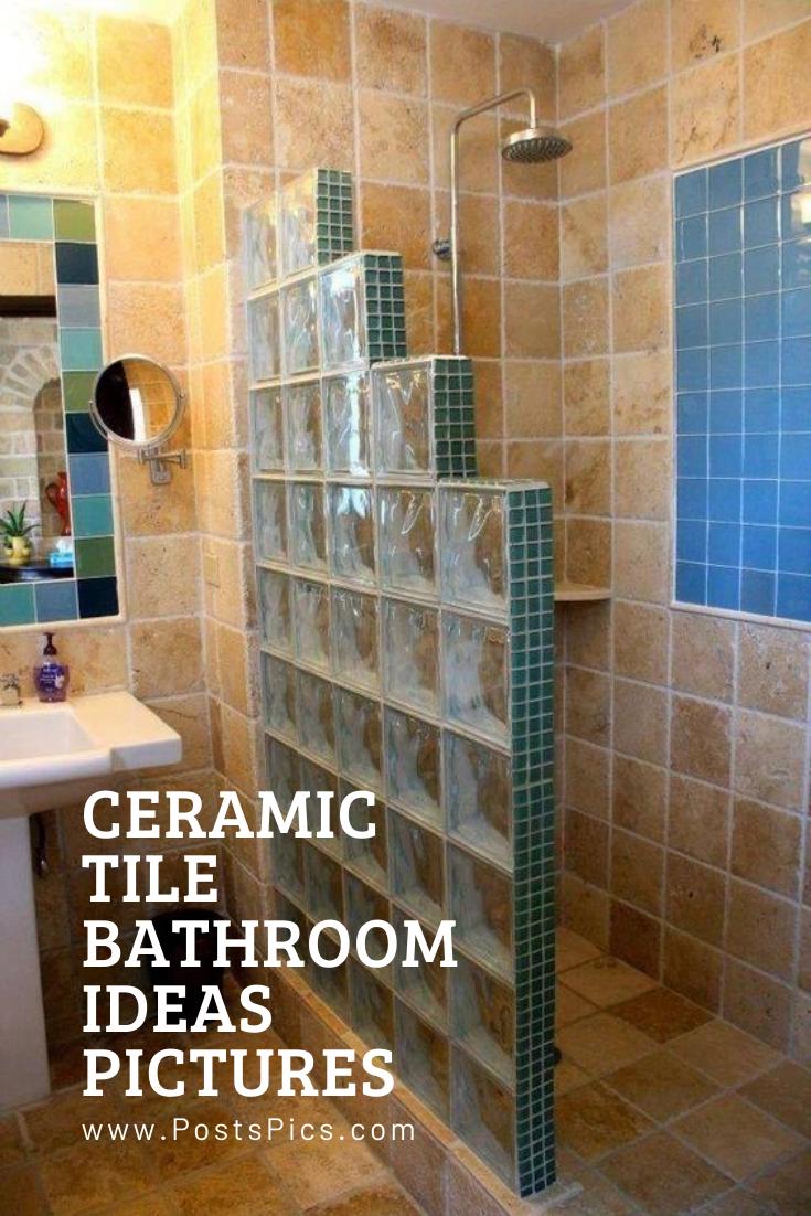 Small Bathroom Designs Ceramic Tile Bathrooms Tile Bathroom Bathroom Pictures
