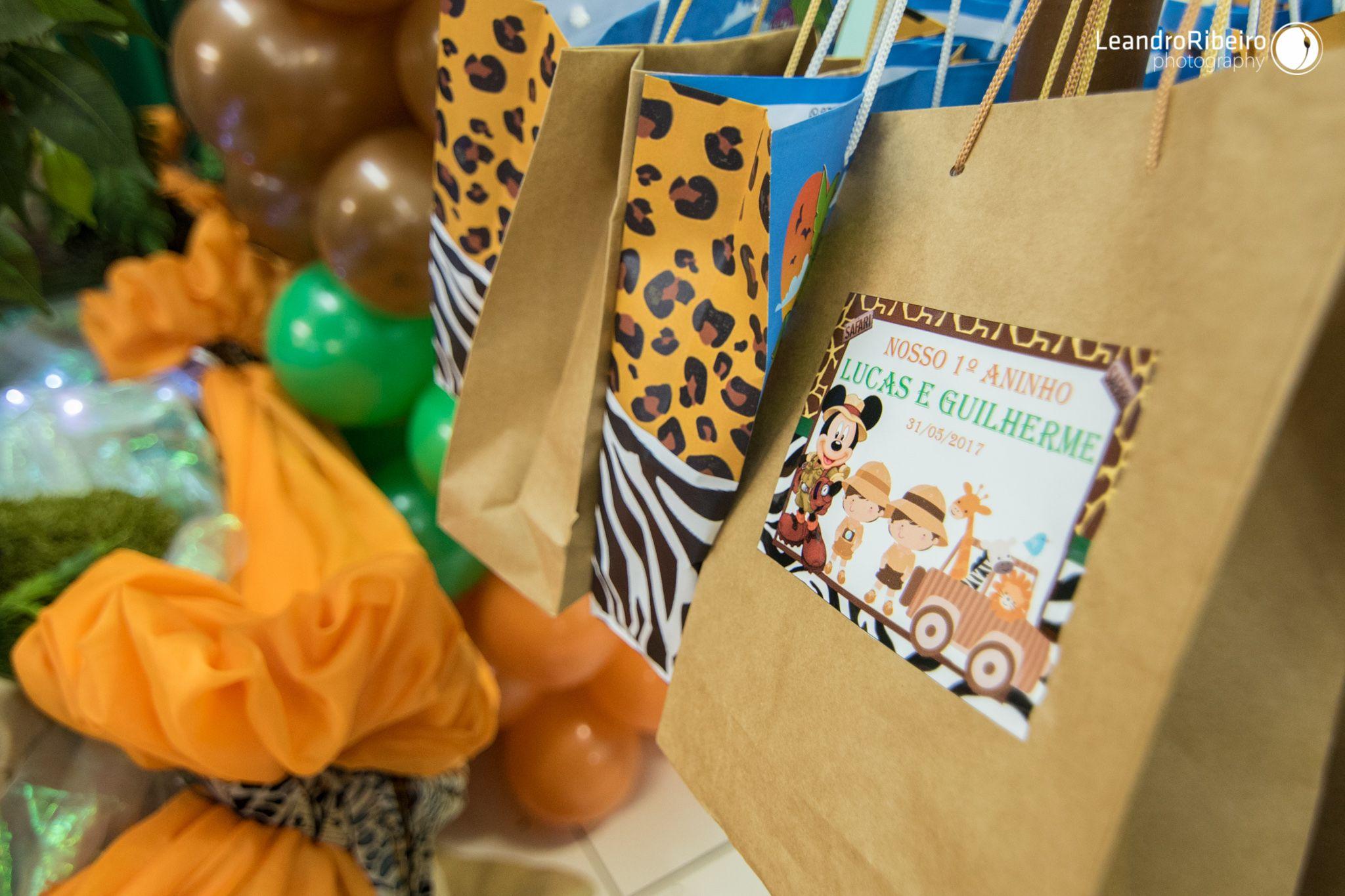Decoração de Festa Infantil - FESTA MICKEY FLORESTA - SAFÁRI DO MICKEY - Leandro Ribeiro Photography