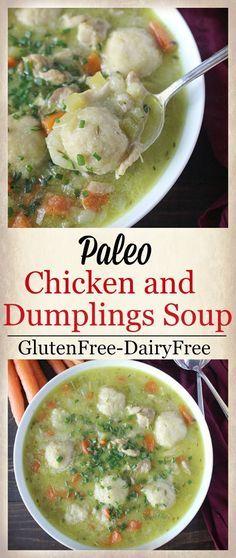 Paleo Chicken And Dumplings Soup Recipe Gluten Freepaleo