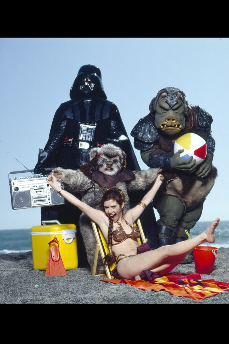 from Zayne carrie fisher nude photoshoot