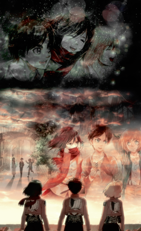 Shiganshina Trio Source Uttsukushi On Tumblr Attack On Titan Art Attack On Titan Anime Attack On Titan Fanart