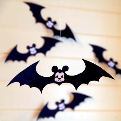 An Adorably Spooky Mickey Bat Mobile Bats, Disney family and