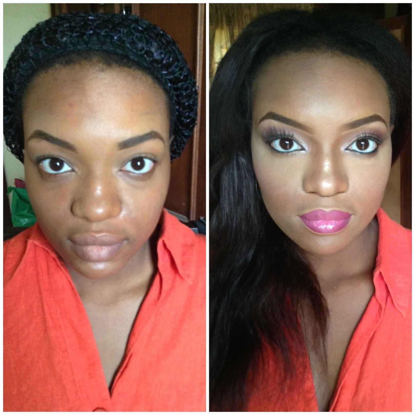 black girl makeup before and after - Google Search ...