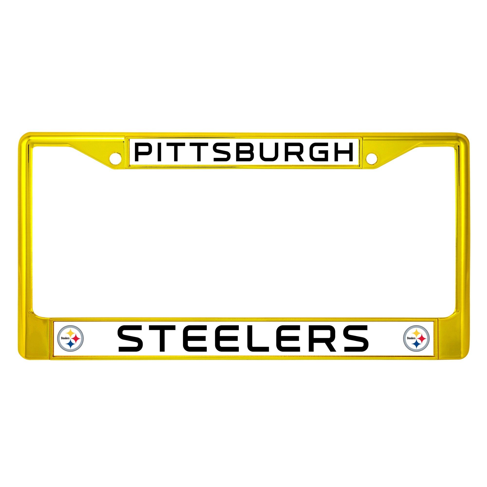 NFL Pittsburgh Steelers License Plate Frame | Products | Pinterest ...