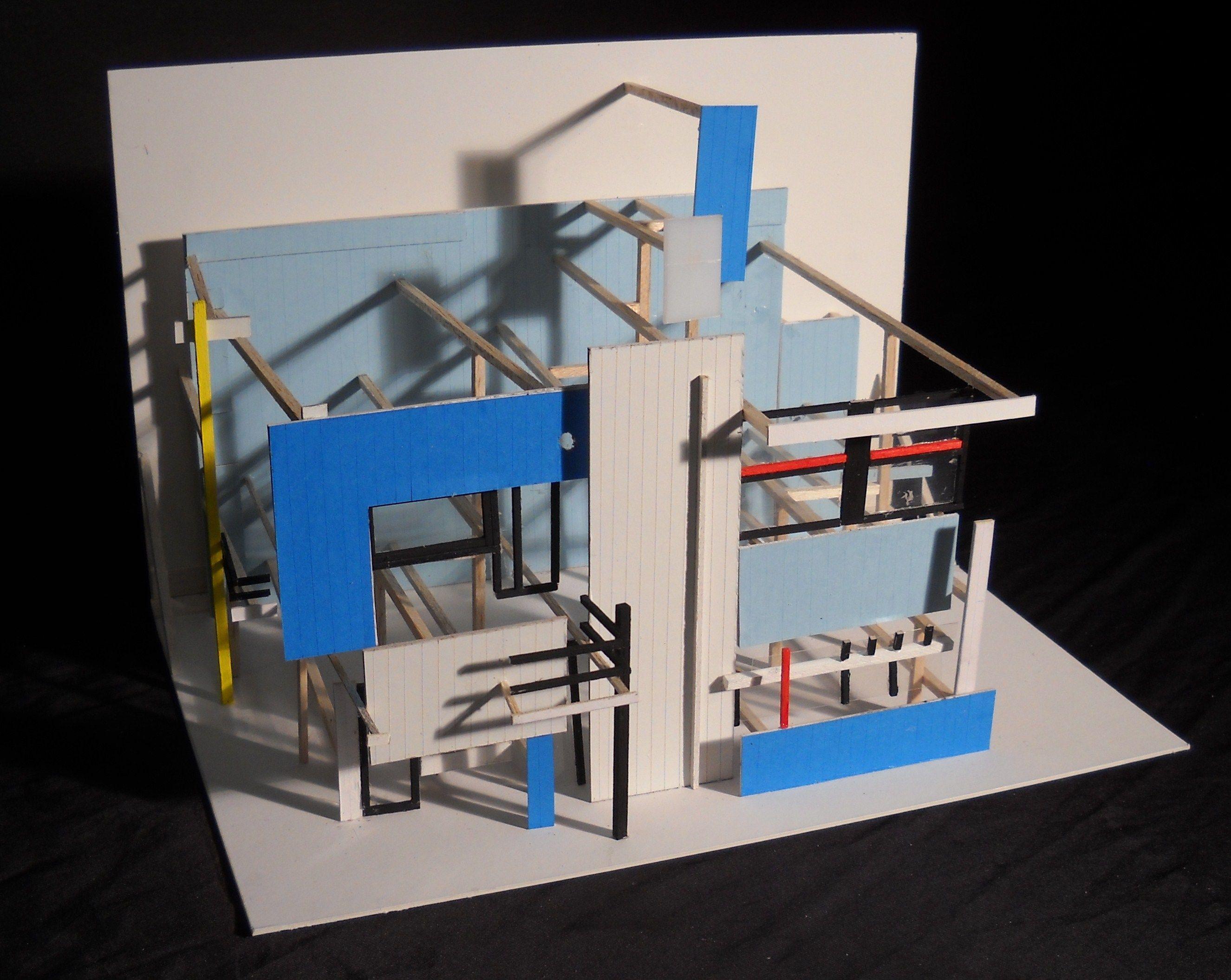 Schroder House Gerrit Rietveld
