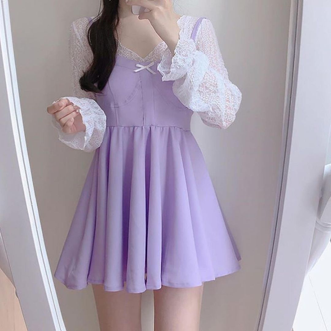 Girl Classic Outfit Ideas Style Birthday 2021 Sweet Korean Fashion Vsco College Ulzzang Fashion Cute Skirt Outfits Fashion [ 1080 x 1080 Pixel ]