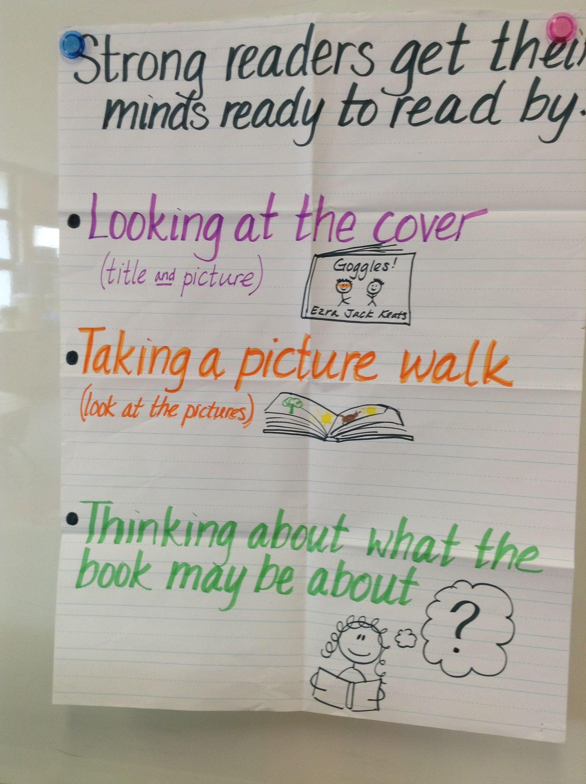 Getting Our Minds Ready To Read