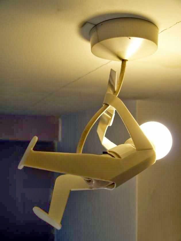 Creative lighting - Creative art work lamps   Human shape lamps ...