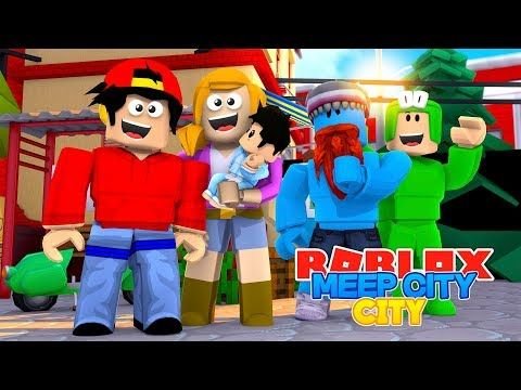 Roblox Meep City Ropo Little Kelly Get A Baby Youtube