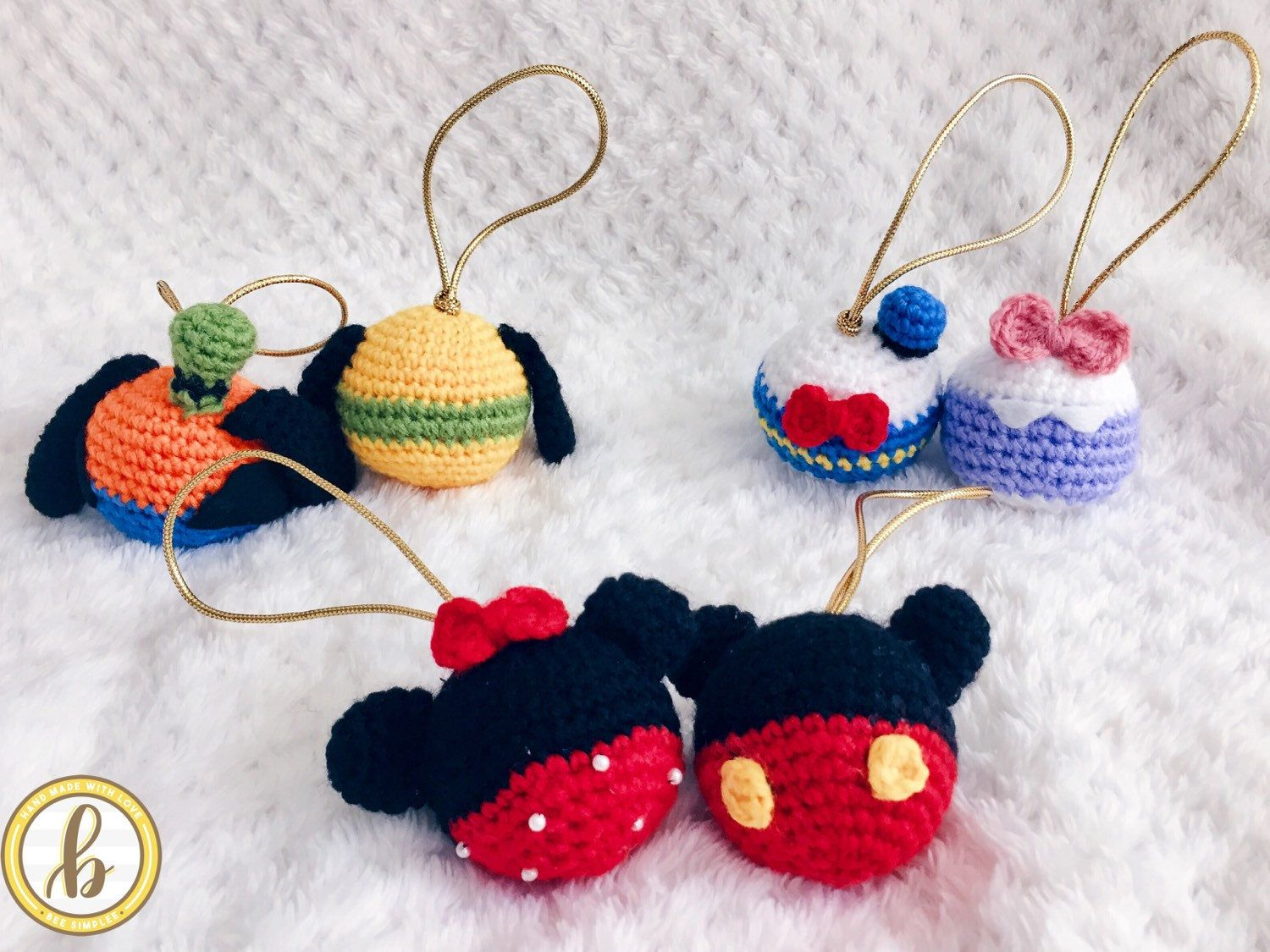 Disney bauble ball | Baby Stroller toy | Mickey, Minnie Mouse ...