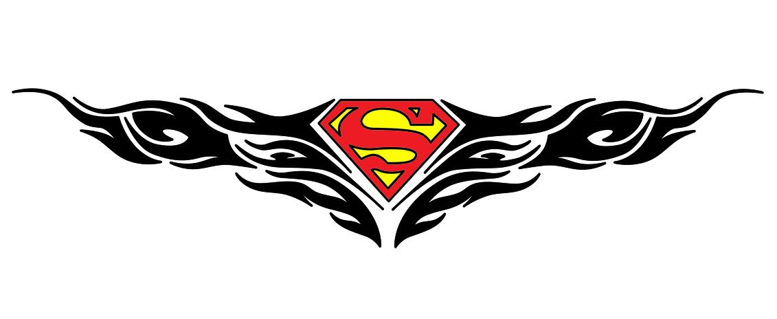 Superman Logo Tattoo Ideas Rose Tatoo