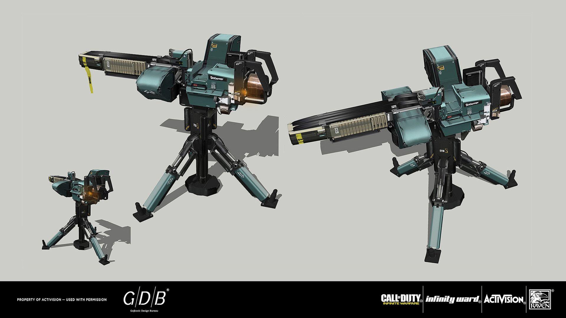 Artstation G D B Cod Infinite Warfare 19 20 Gojkovic Design