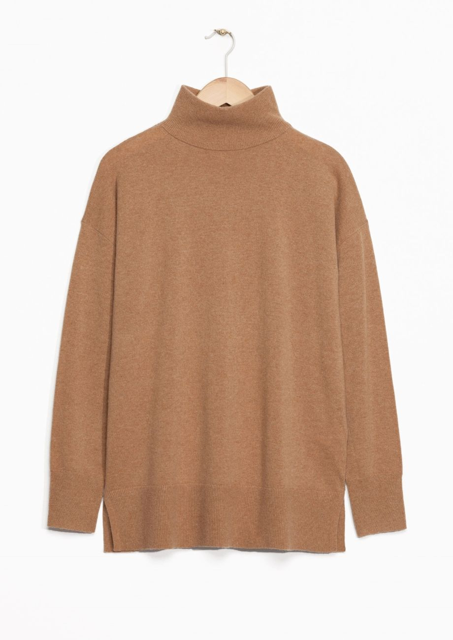 & Other Stories | Cashmere Turtleneck Sweater.