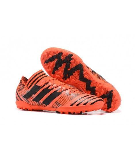 83b13608f Adidas Nemeziz 17.3 TF NA UMĚLÝ POVRCH ACC Oranžový Černá Laceless Kopačky