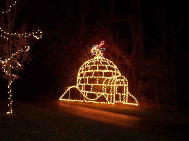 Walkway Of Lights Marion Indiana Christmas City Usa Grant County Holiday Light Display