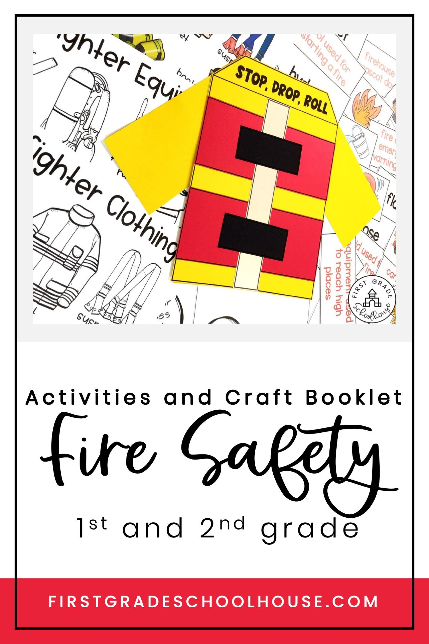 Fire Safety Activities and Craft Booklet in 2020 Fire