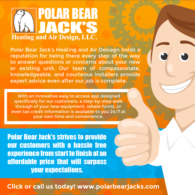 Polar Bear Jack S Heating Air Design Llc Is An Hvac Contractor