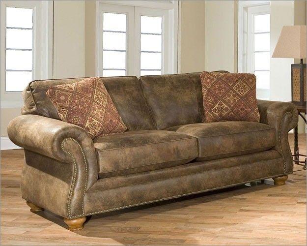 Broyhill Leather Sleeper Sofa Mountain Home In 2019
