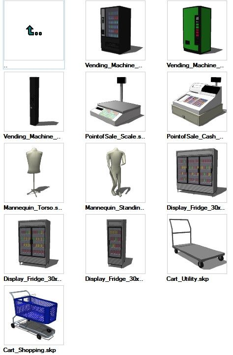 Autocad 3d House Design Software: Sketchup Retail 3D Models Download – CAD Design