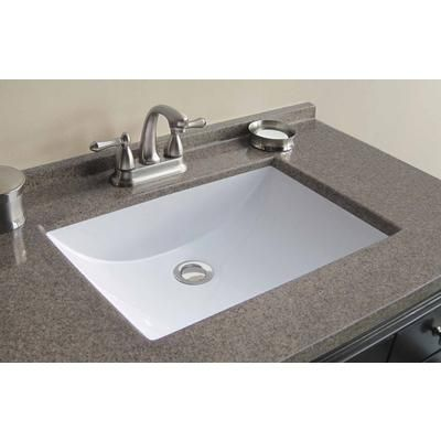 Magick Woods 37 Inch W X 22 D Walnut Cultured Granite Vanity Top With Wave Bowl 48545 Home Depot Canada