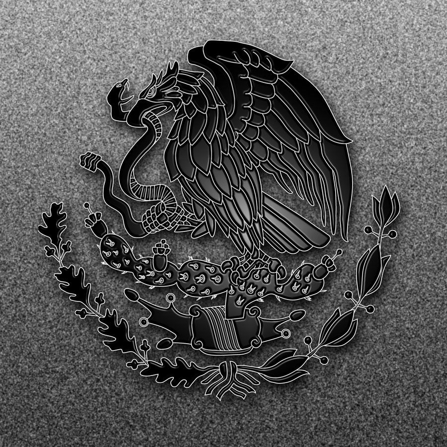Mexican Flag Eagle 2 by on