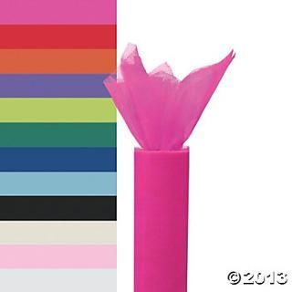 Large Tulle Rolls, Gossamer, Pillows & Tulle, Party Decorations, OLD_Party Themes & Events - Oriental Trading