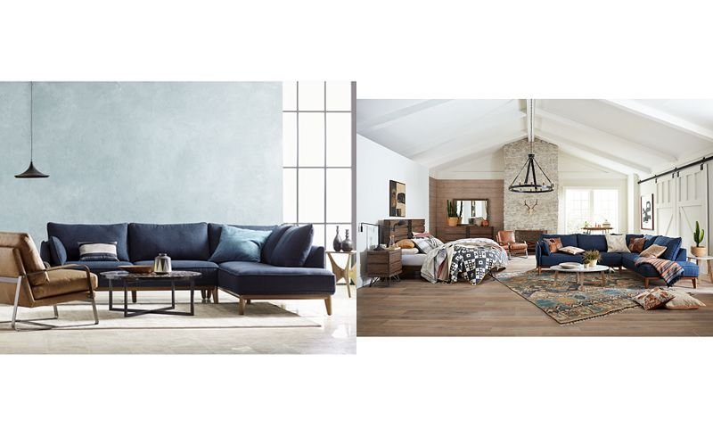 Prime Jollene 113 2 Pc Sectional Created For Macys Macys Theyellowbook Wood Chair Design Ideas Theyellowbookinfo