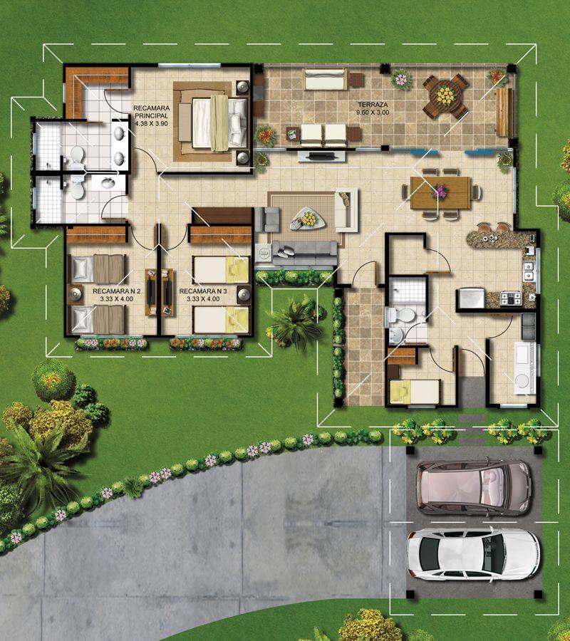 Hacienda Los Molinos Spazios Bienes Raices Planos De Casas Planos De Casas Modernas Planos De Casas Minimalistas