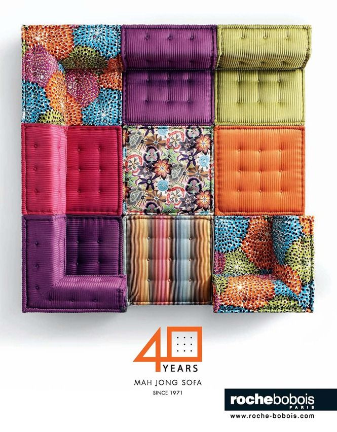 Roche Bobois Mah Jong Modular Sofa Comes In Heaps Of Diffe Colours And Patterns