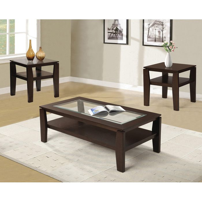 Red Barrel Studio Golder 3 Piece Coffee Table Set